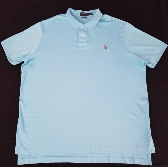 Pima Ralph Polo Shirt Touch Soft Lauren zGqUpVSM